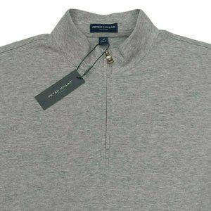 Peter Millar Collection 1/4 Zip Pique Sweater M